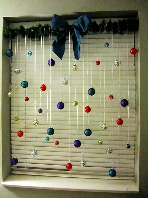 Window ornaments.
