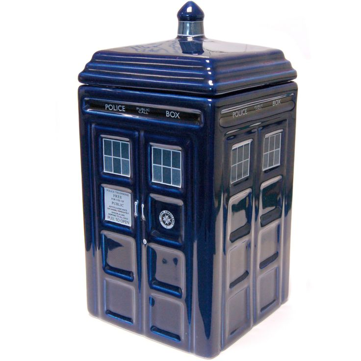 Dr Who Tardis Ceramic Cookie Jar - Only £24!!