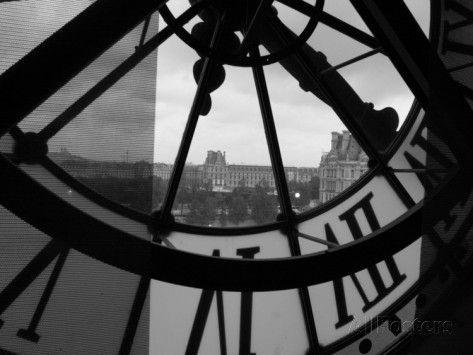 Musee D'Orsay, Parijs, Frankrijk Fotoprint