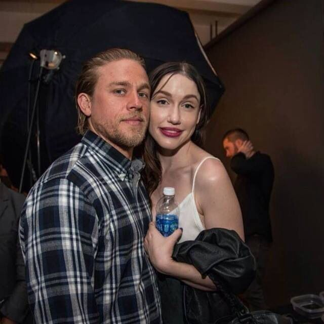 "Charlie & girlfriend ---- Rumor has it that SOA's Charlie Hunnam is going to be a dad. The British hunk, known for his role of Jax Teller in FX's Sons of Anarchy, was seen having an intimate dinner with his longtime girlfriend, Morgana McNelis, on January 11, 2015, nearby their California home. Sources say McNelis had a ""prominent stomach bulge"", and was obvious about avoiding any alcoholic beverages during the dinner. The news comes barely a week after a The English-Sun Times, a popular…"