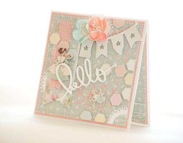 Hello baby card (mamajudo.blogspot.com)