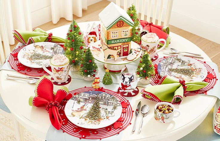 266 Best Christmas Images On Pinterest Tablescapes