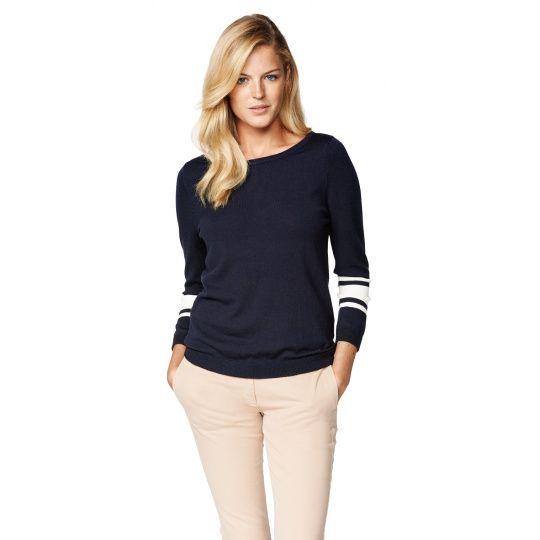 GANT Striped Sleeve Jumper - New Arrivals - Clothing - Women