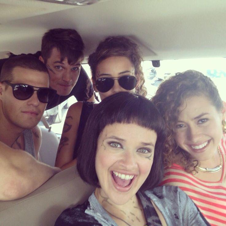Star-Crossed. Roman, Drake, Teri, Sophia & Zoe.