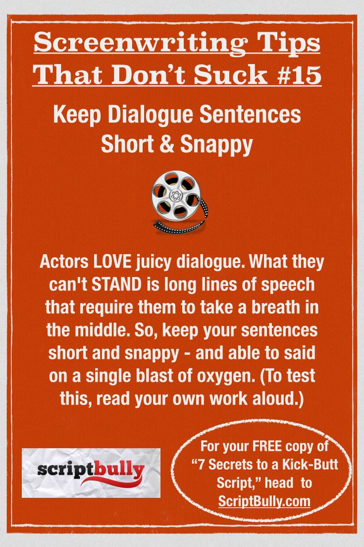 375 best screenwriting images on pinterest tips fiction writing for your free copy of the ebook 7 secrets to a kick ass fandeluxe Image collections