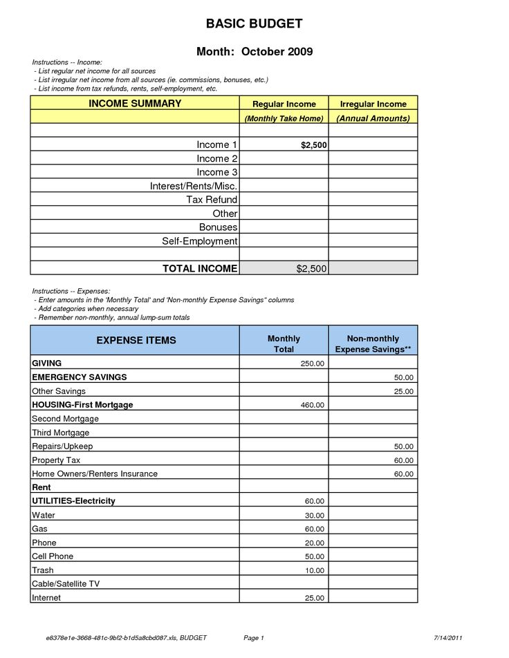 The 25+ best Budget forms ideas on Pinterest Budget planner - housing benefit form