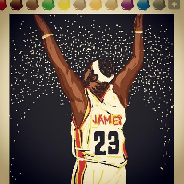 Lebron James, NBA Basketball Player in USA / Star Player / 엔비에이 농구 선수 르브론 제임스 / 스타플레이어