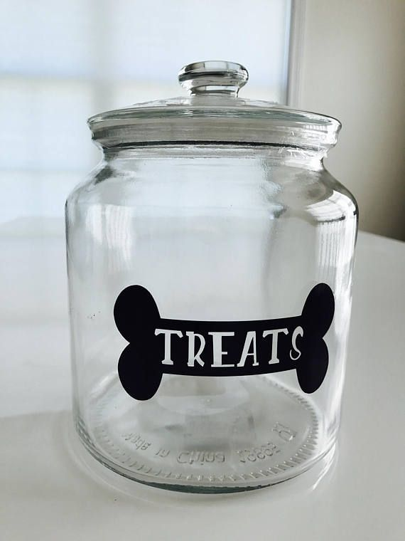 Dog Treat Jar Dog Treat Container Dog Treat Holder Dog Treat