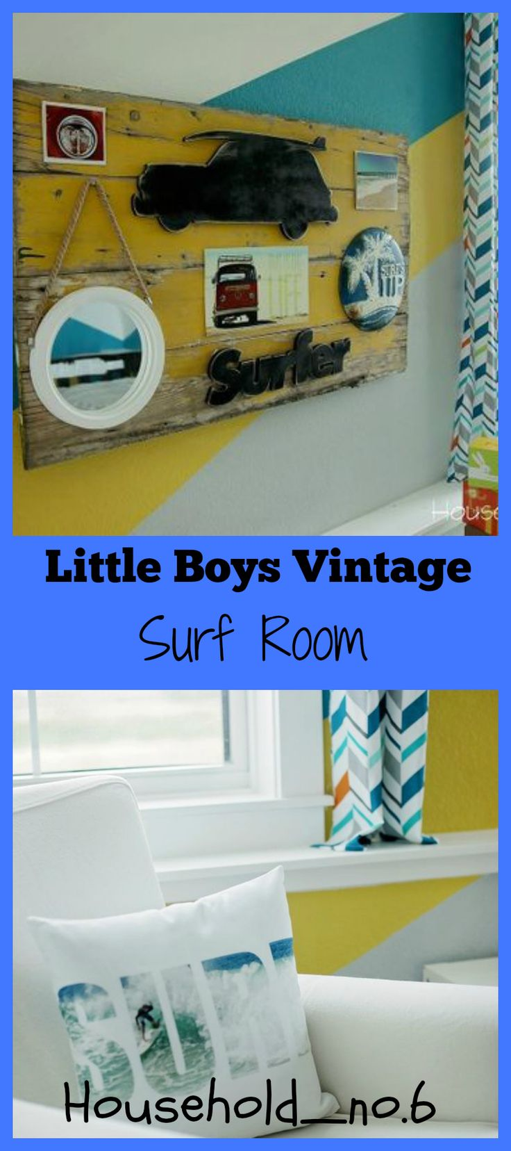 Little Boys Vintage Surf Room