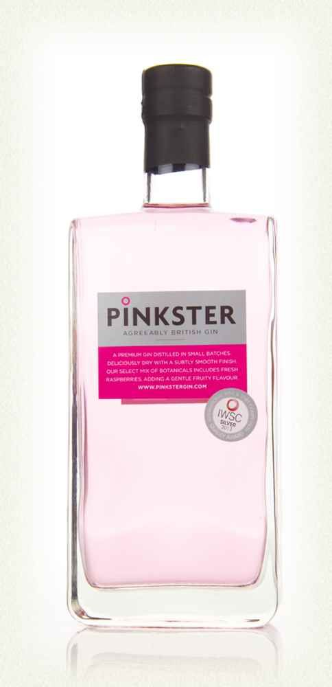 Pinkster Gin - a Christmas gift from a good girlfriend - lovely