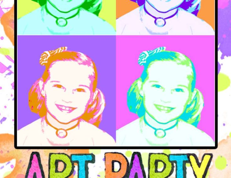 """Art Party / Birthday """"Pop Art Party"""" 