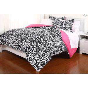 Amelia Reversible Comforter Set with Sheets
