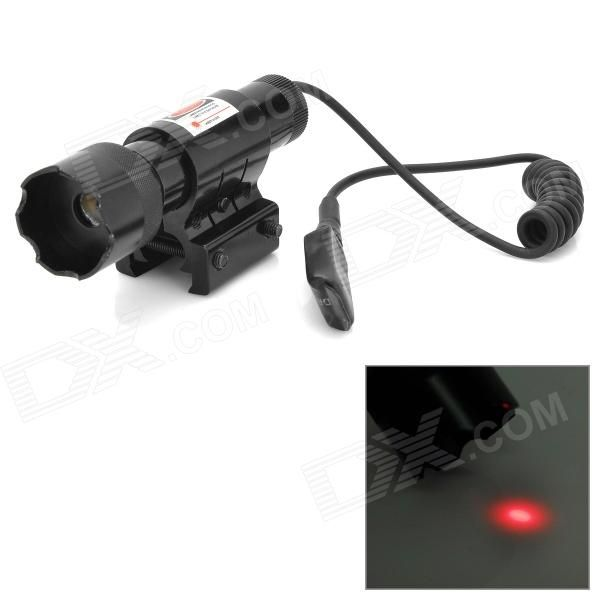 LR06A 20mW Aluminum Alloy Red Laser Sighter w/ Pressure Switch - Black (4 x AG13 ) Price: $14.40