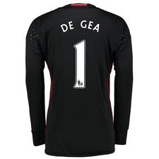Manchester United Home Goalkeeper Shirt 2016-17 with De Gea 1 printing