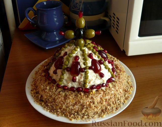 Салат шапка мономаха рецепт и картинка