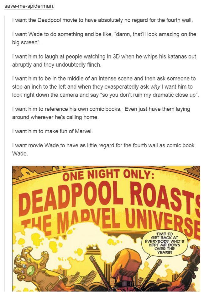 Deadpool Tumblr