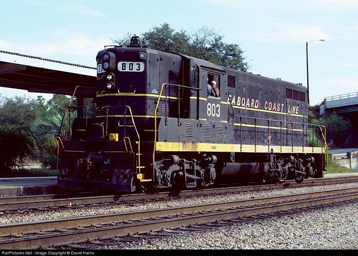 RailPictures.Net Photo: SCL 803 Seaboard Coast Line EMD GP7 at North Charleston, South Carolina by David Harris