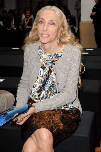 Franca Sozzani Photos - Franca Sozzani attends the Marco de Vincenzo Womenswear S/S 2011 show during Milan Fashion Week on September 26, 2010 in Milan, Italy. - Marco de Vincenzo: Milan Fashion Week Womenswear S/S 2011