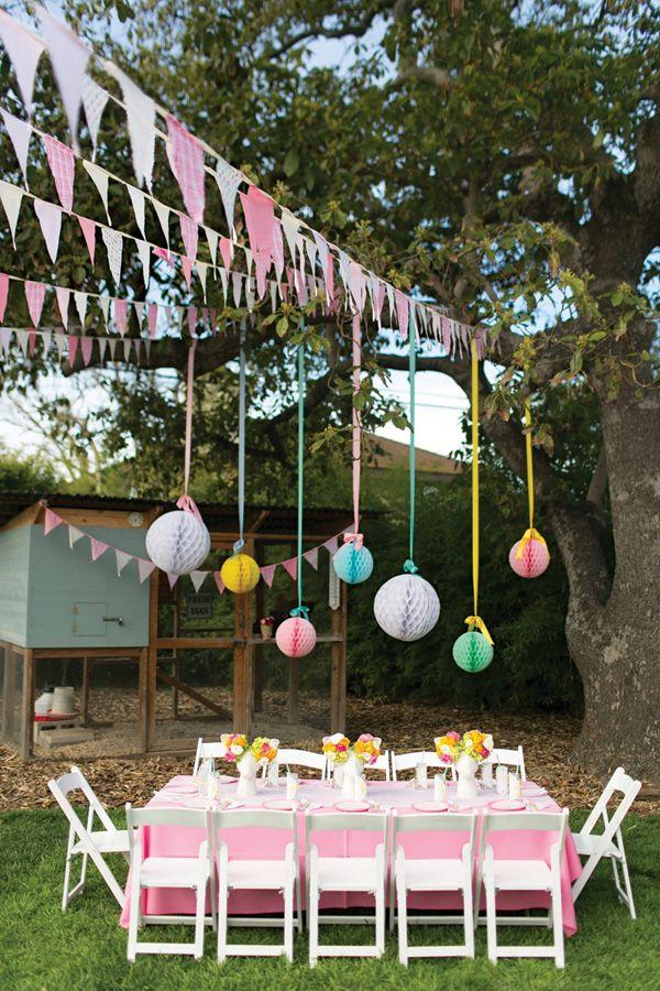 Gorgeous Little Deer Garden Birthday Party