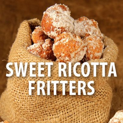 The Chew: Curtis's Ricotta Fritters with Strawberry Rhubarb Jam Recipe