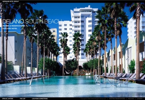 4 languages offered at the Delano South Beach website http://www.delano-hotel.com/#/home/