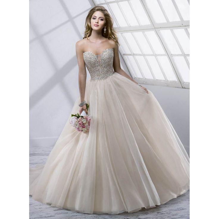 Strapless Corset Wedding Dresses