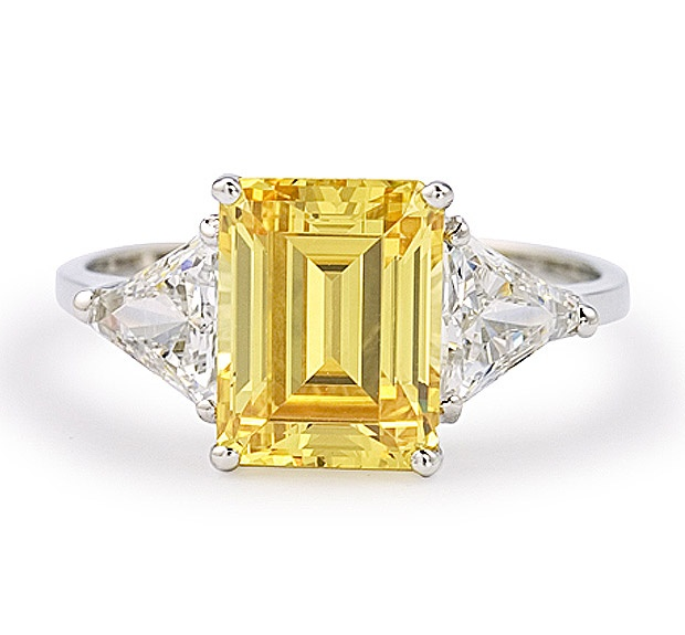 Love this yellow sapphire by By Brilliant