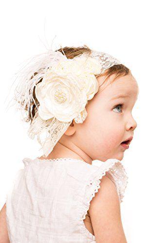 Baby Girl Boutique Floral Headband For Christening, Commu... https://www.amazon.com/dp/B0155U57DY/ref=cm_sw_r_pi_dp_x_rehVybD883Z7Q