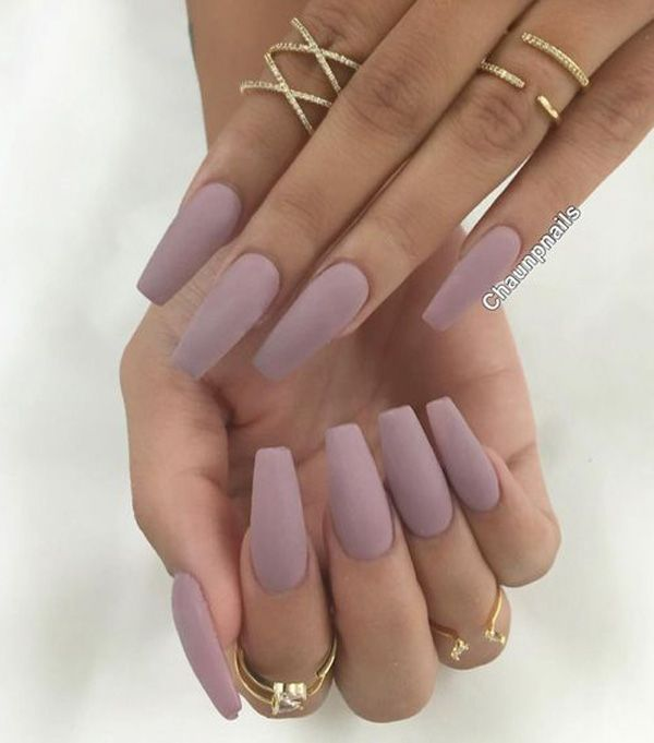Nude is the new black. Matte is also the new black. Combining these two and you're the trendiest girl there is.