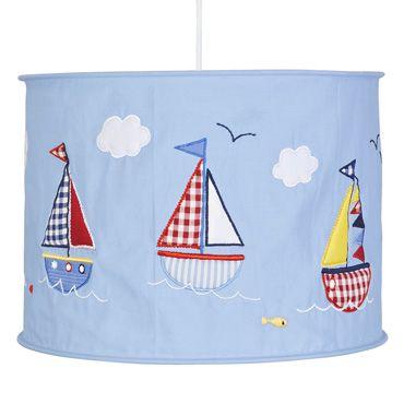 Nautical Lampshade, Nightlights, Clocks and Lampshades, Nursery