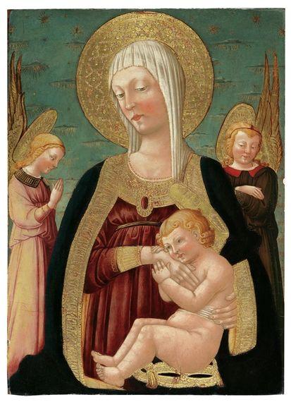 Neri di Bicci - Madonna col Bambino e angeli - Collezione privata