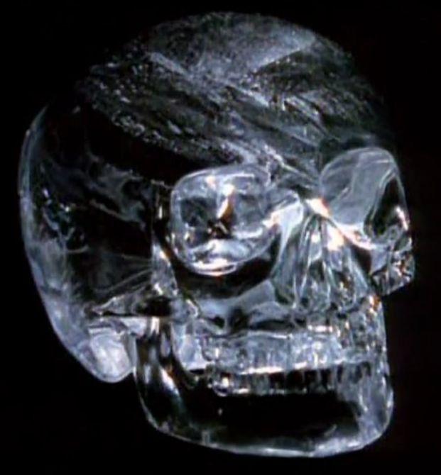 Хрустальный череп из Британского музея.