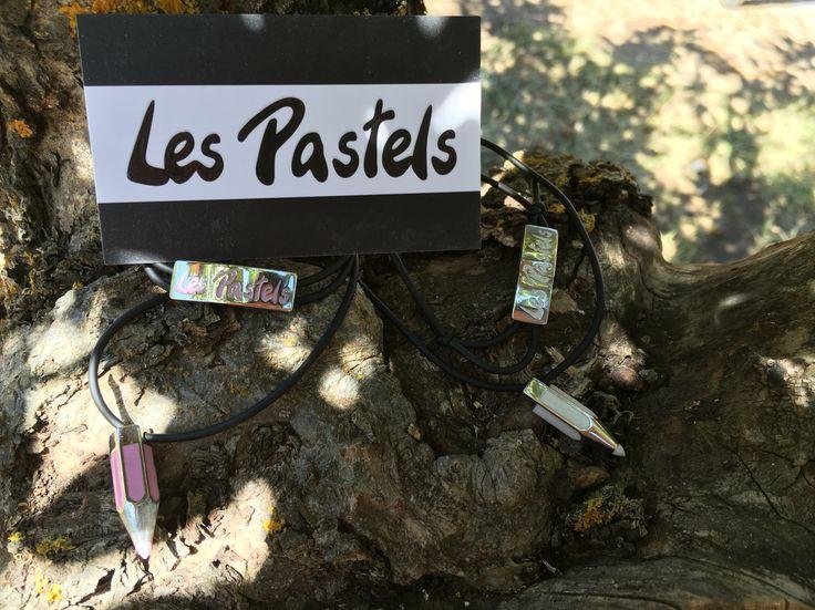 bracelets and necklaces Les Pastels