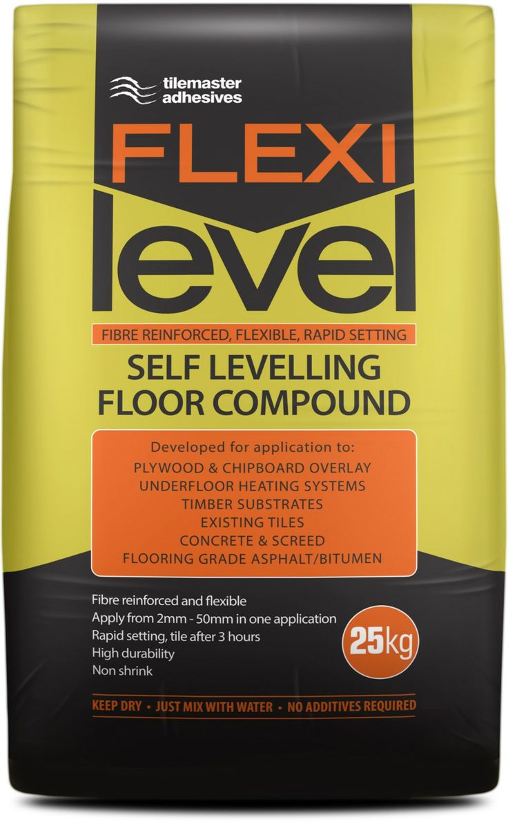 14 best tile adhesive grouts images on pinterest cement grout flexilevel levelling compound from tilemaster adhesives supplied by tile town flexilevel rapid setting fibre reinforced flexible self levelling compound dailygadgetfo Images