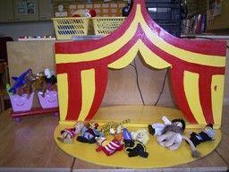 Vingerpoppetjes theater | CIRCUS
