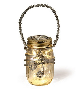 Wired Lantern Jar Skill Level: No experience necessary Crafting Time: 1-2 hours Skill Level: No experience necessary