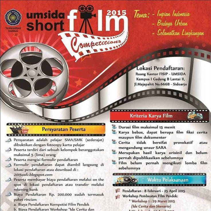 UMSIDA Short Film Competition 2015 infosda
