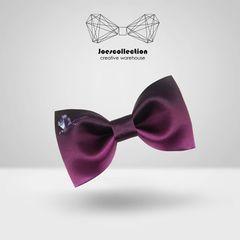 joes原创设计印花领结男结婚新郎伴郎英伦酒渐变紫鸟煲呔包邮