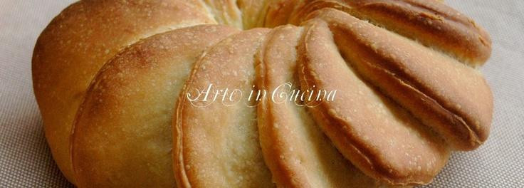Pane con pasta madre, il girasole