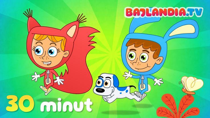 ZESTAW piosenek dla dzieci - 30 MINUT - od bajlandia.tv - HD