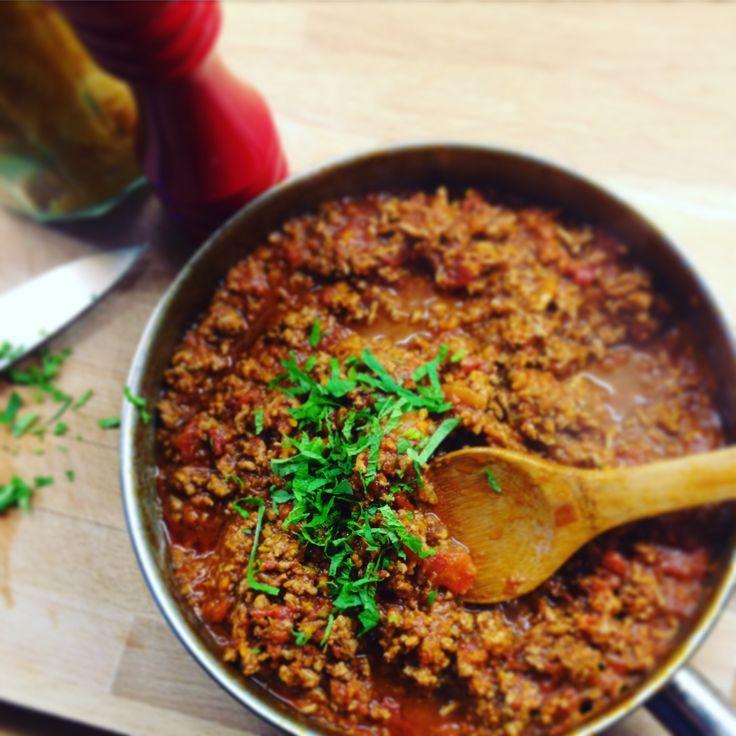 Lamb or beef ragu. Versatile recipe