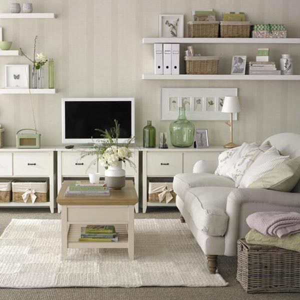 17 best ideas about feminine living rooms on pinterest for Practical living room designs