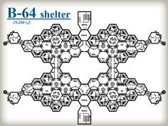 Beehive Shelter Systems – Honeycomb POD system - The hexagonal shape perfectly distributes and disperses the external man-made or environmental forces thus protecting its contents. The hexagon also allows simple expandability by adding hexagon segments to the perimeter of the honeycomb. The simplicity of the hexagonal shape creates an incredibly strong and smart design which provides great security for the bees.