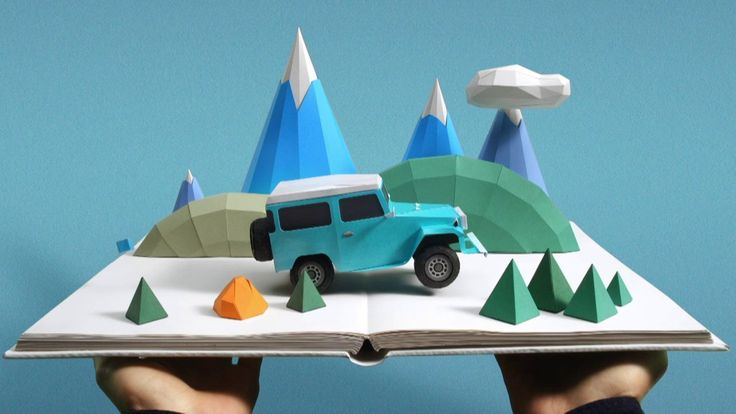 stop motion - motion graphic design - Toyota - 'Stories of Better'