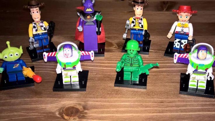 Toy Story Lego. Compras en Aliexpress