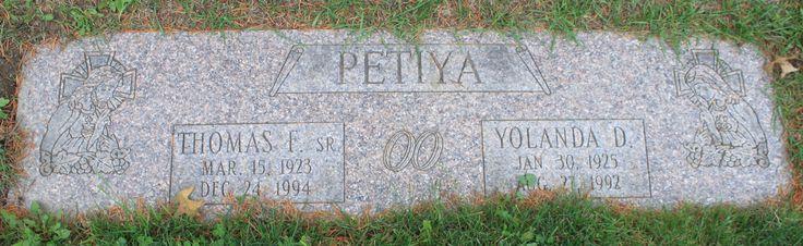 """Yolanda D """"Dolly"""" Ciferno Petiya (1925 - 1992) - Find A Grave Photos"""