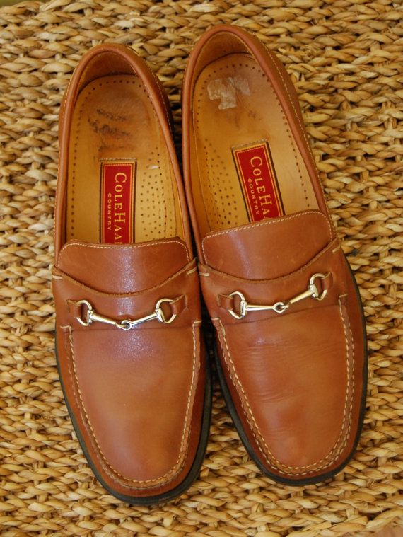 Vintage 1980s Cole Haan Womens Loafers in by TeaatThreeVintage, $36.00
