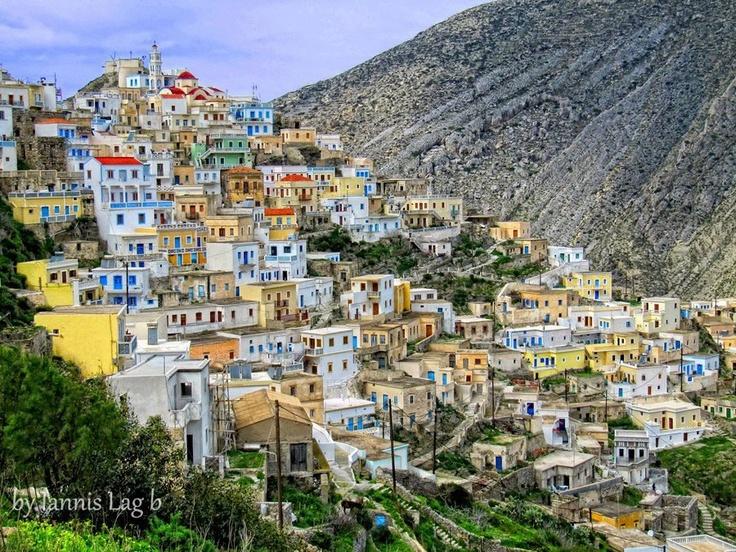 Όλυμπος, Κάρπαθος Olymbos village in Karpathos