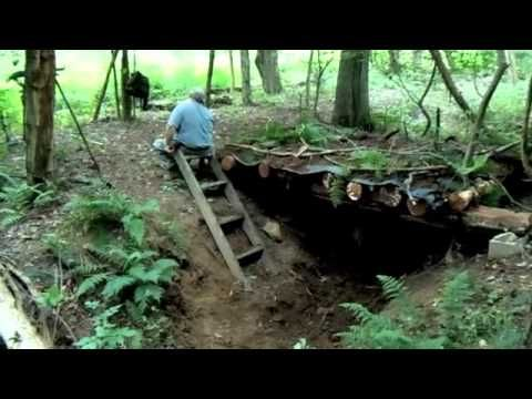 How To Dig Your Underground Shelter | Survival skills, survival guns, survival guide