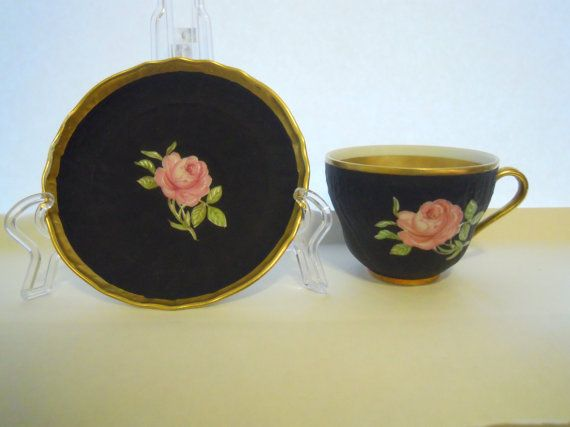 Cup And Sacuer Teacup And Saucer Jkw Carlsbad Decor